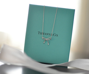tiffany, necklace, and bow image