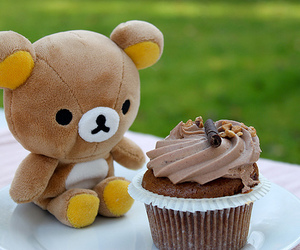 cupcake, rilakkuma, and cute image