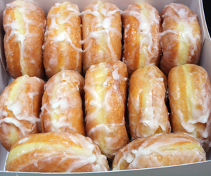donuts, midnight, and sweet image