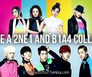 2ne1, bucket, and kpop image