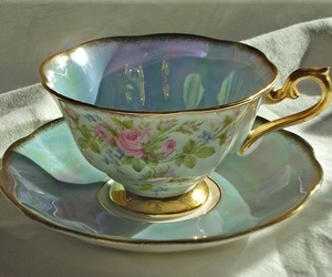 lovely, pretty, and tea image