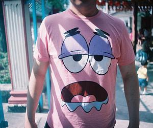 patrick, shirt, and spongebob image
