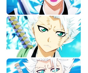 bleach, toshiro, and hitsugaya image