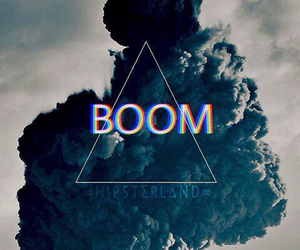 boom, hipster, and triangle image