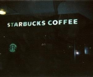 starbucks, coffee, and grunge image