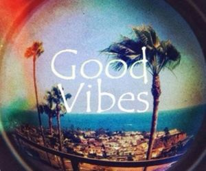 good vibes, beach, and summer image