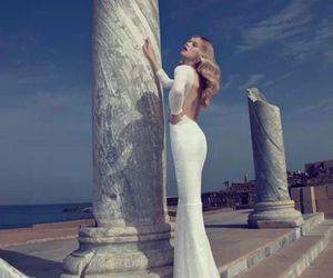 wedding gown and woman image