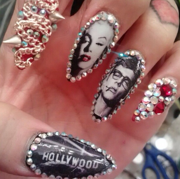Dope nails <3 uploaded by Dulce ❤ on We Heart It