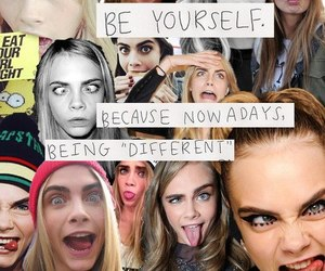 quote, photography, and cara delevingne image