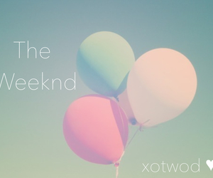 balloons, my edit, and the weeknd image