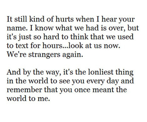 i miss you, strangers, and love image