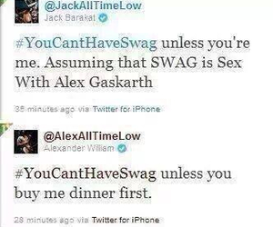 alex gaskarth, all time low, and band image