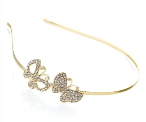 butterflies, crystal, and Headbands image