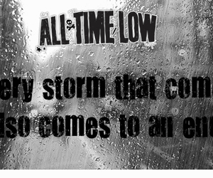 all time low, end, and storm image