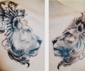 24 Images About Lion Tattoo On We Heart It See More About Tattoo