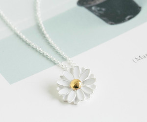 flower and necklace image