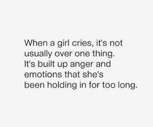 girl, quotes, and cry image