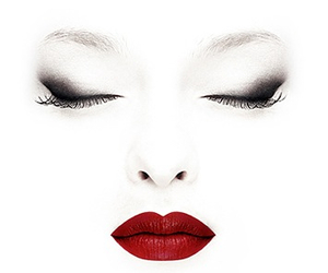 lips, red, and face image