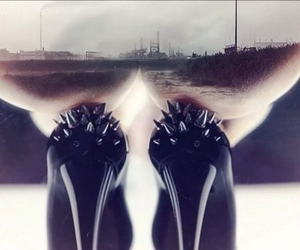 high heels, spikes, and intro image