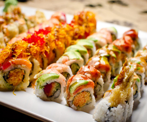 photography, food, and sushi image