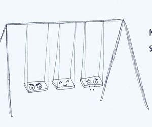 mood, swing, and sad image