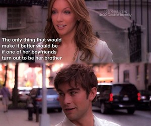 chase crawford, gg, and gossip girl image