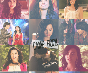 demi lovato, camp rock, and Joe Jonas image