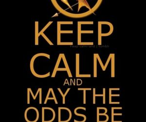 and, keep calm, and hunger games image