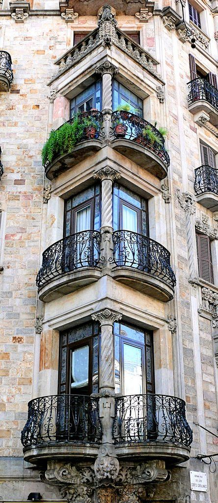 architecture, window, and spain image