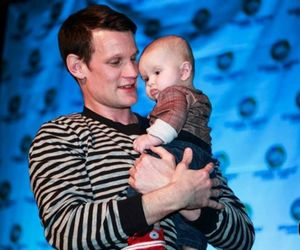 matt smith, baby, and doctor who image
