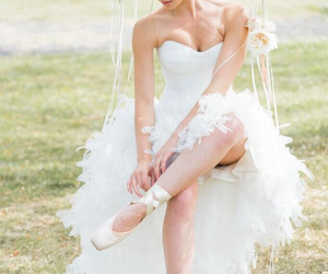 wedding, ballet, and white image