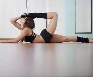 fittness, workout, and yoga image