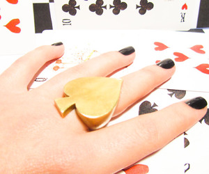 black, cards, and hand image
