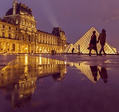 beautiful, chateau, and louvre image