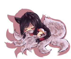 ahri and league of legends image