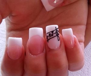 french, music, and nails image