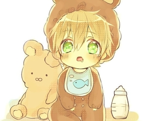 anime, free!, and baby image
