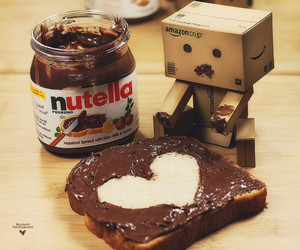 heart, nutella, and love image