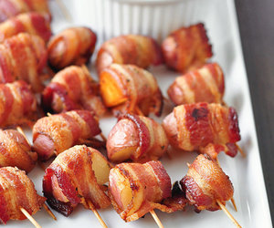 food, bacon, and delicious image