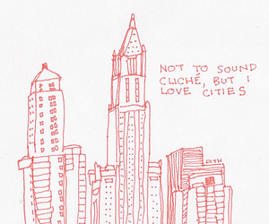 city, drawing, and cute image