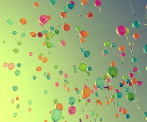 awesome, balloon, and color image