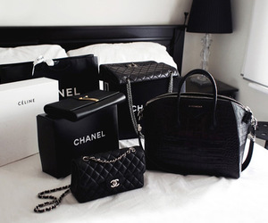 celine, fashion, and chanel image