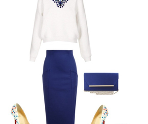 BCBG, Polyvore, and clutch image