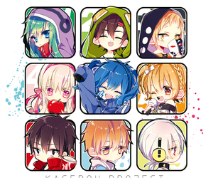 chibis and kagerou project image
