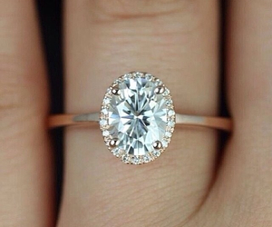 beautiful, ring, and love image