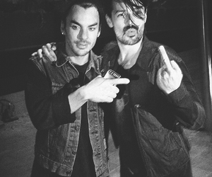 shannon leto, tomo milicevic, and thirty seconds to mars image