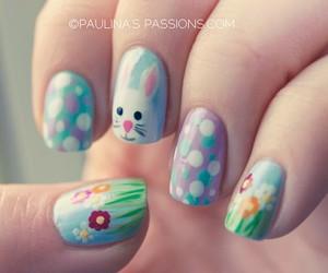 nail art, nails, and easter image