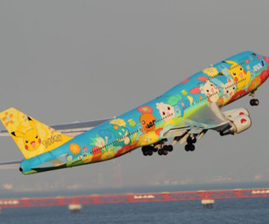 airplane, fly, and pokemon image