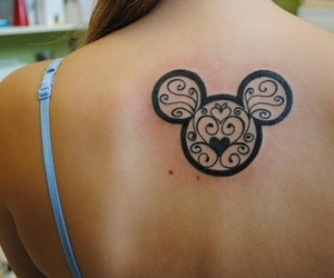 beautiful, tattoo, and different image