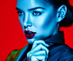 beauty, colorful, and fashion image